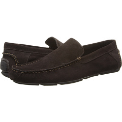 Calvin Klein Men's Menton Suede Slip On Loafer (Brown Suede)