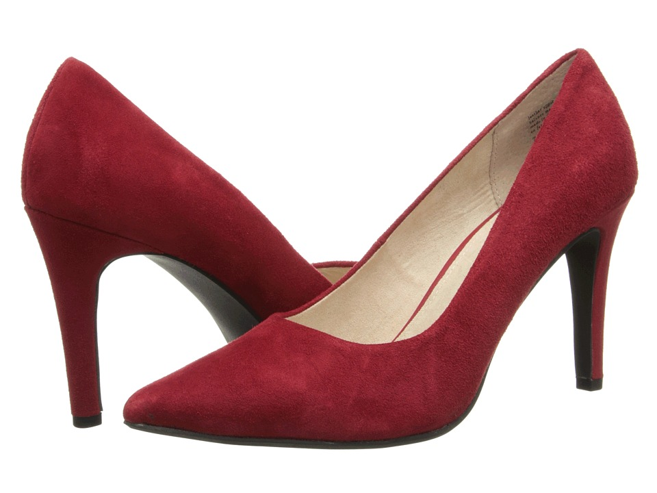 Seychelles Frequency (Red Suede) Women's Shoes