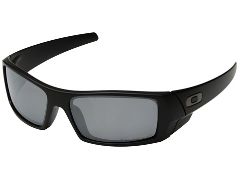 Oakley GasCan® Polarized - Matte Black/Black Iridium Polarized