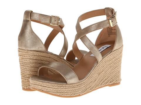 Steve Madden - Montaukk (Gold) Women's Wedge Shoes