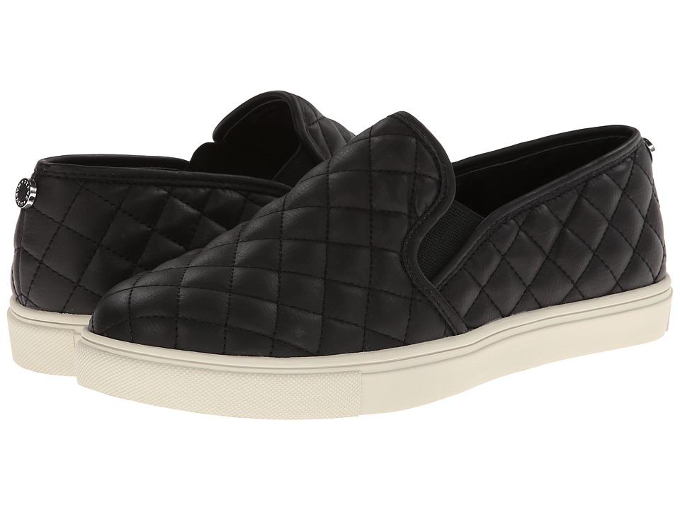 Steve Madden Ecentrcq Black Womens Slip on Shoes