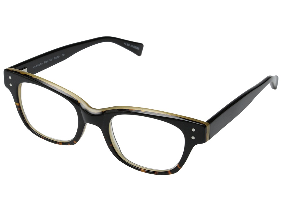 eyebobs - Fizz ED (Demi Torte/Black) Reading Glasses Sunglasses
