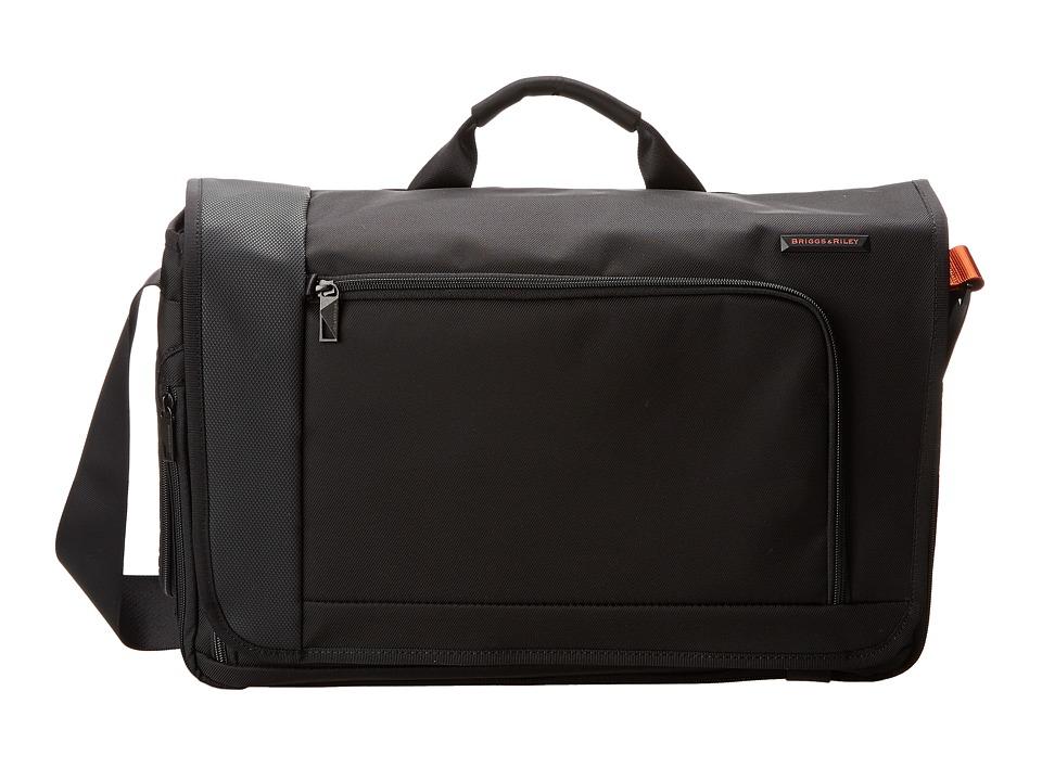Briggs & Riley - Verb Dispatch Messenger (Black) Messenger Bags