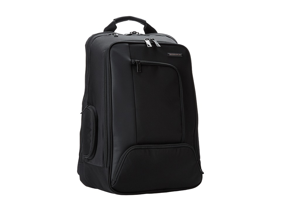 Briggs & Riley Verb Accelerate Backpack (Black) Backpack ...