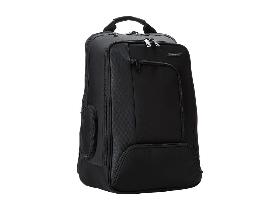 Briggs & Riley - Verb Accelerate Backpack (Black) Backpack Bags