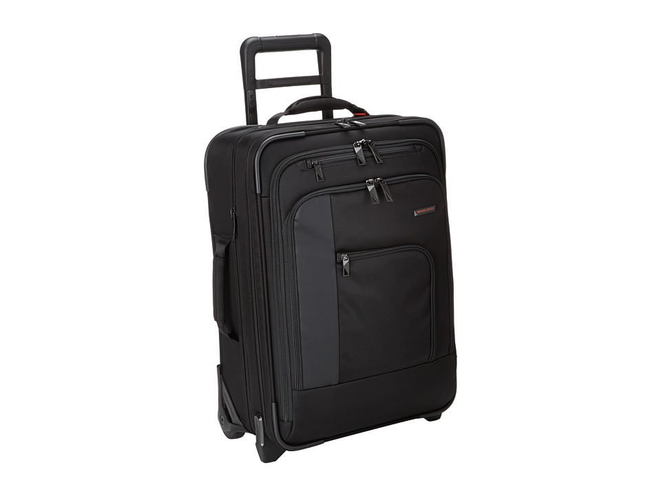 Briggs & Riley Verb Pilot Carry On (Black) Carry on Luggage