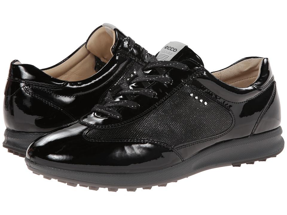ECCO Golf - Street EVO One Luxe (Black) Women's Golf Shoes