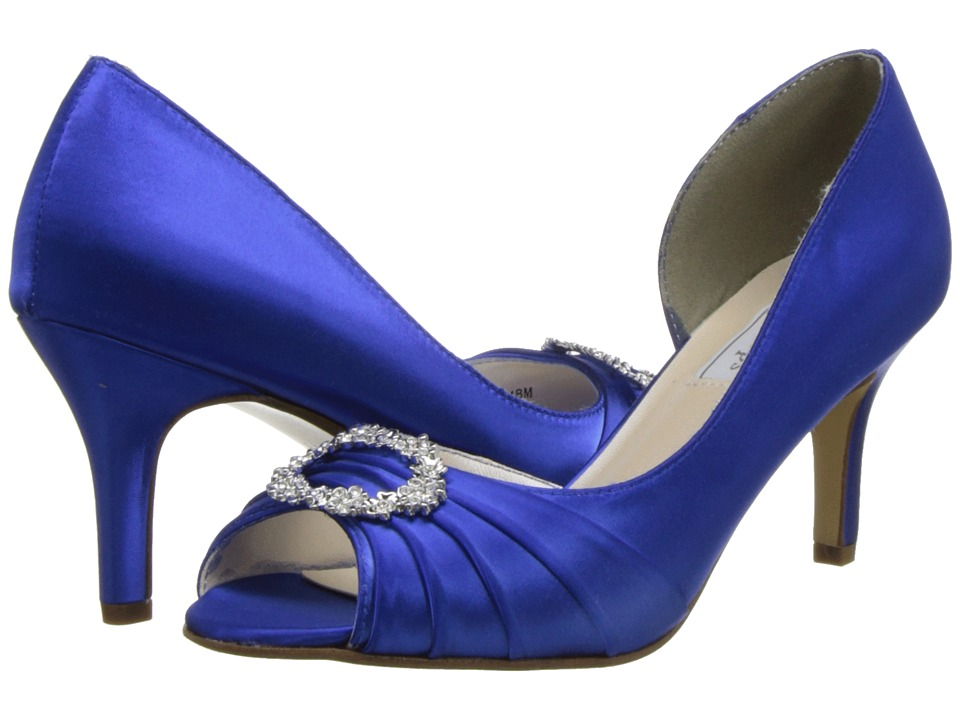 Touch Ups - Olivia (Royal Blue) Womens Bridal Shoes