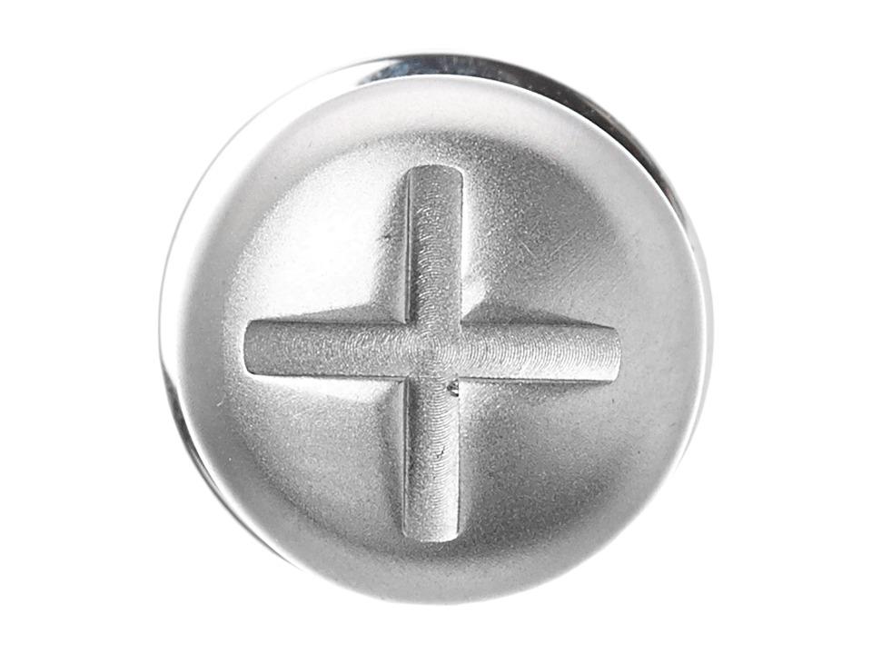 w rkin stiffs Stainless Steel Lapel Pin Screw Silver Cuff Links