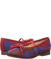 Oscar de la Renta Childrenswear - Plaid Wool Sabrinas Shoes (Toddler/Little Kid)