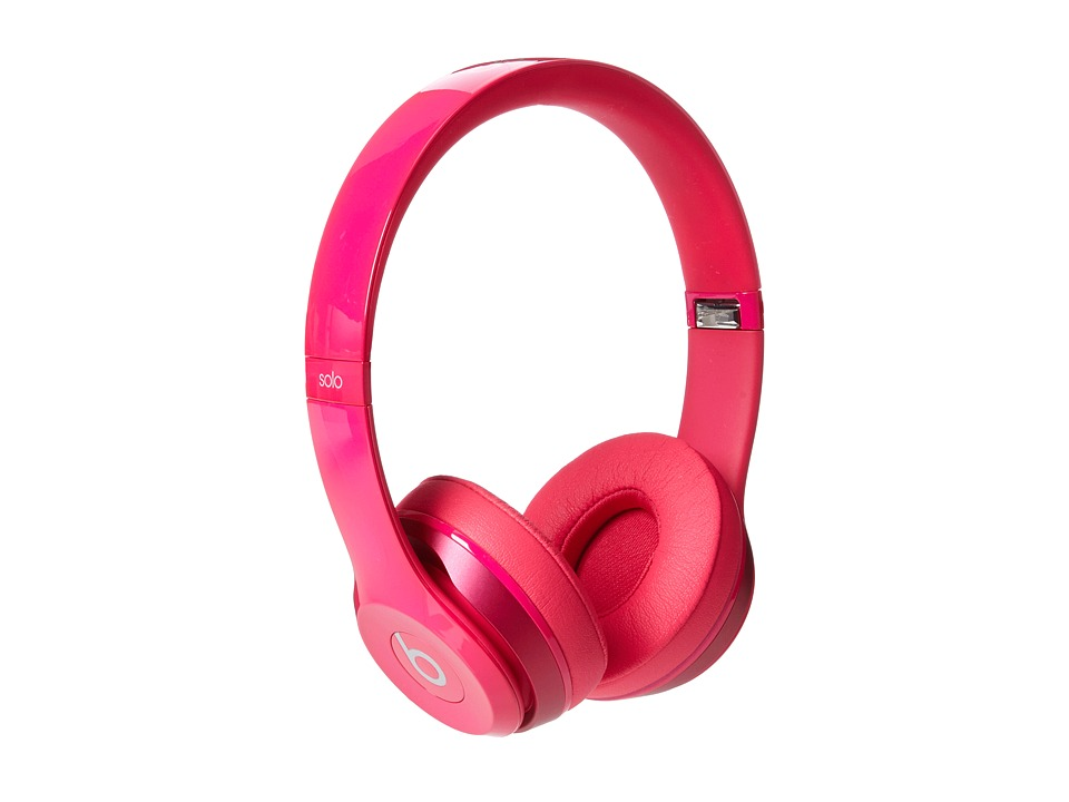 Beats By Dre Beats Solo 2 On Ear Headphone Pink Headphones