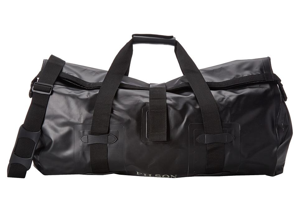Filson - Dry Duffle Large (Black) Duffel Bags