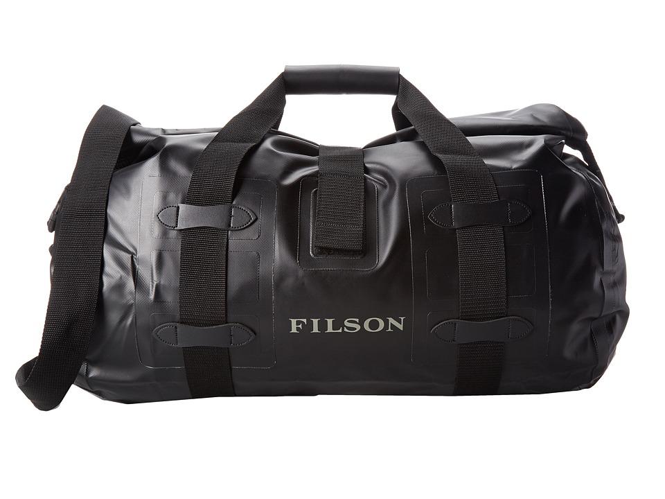 Filson - Dry Duffle Medium (Black) Duffel Bags