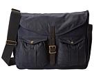 Filson Game Bag Messenger-Heritage (Navy/Orange)