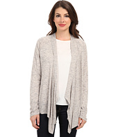 TWO by Vince Camuto - Melange Jersey Drape Front Cardigan