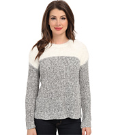 TWO by Vince Camuto - L/S Marled Sweater w/ Eyelash Yoke