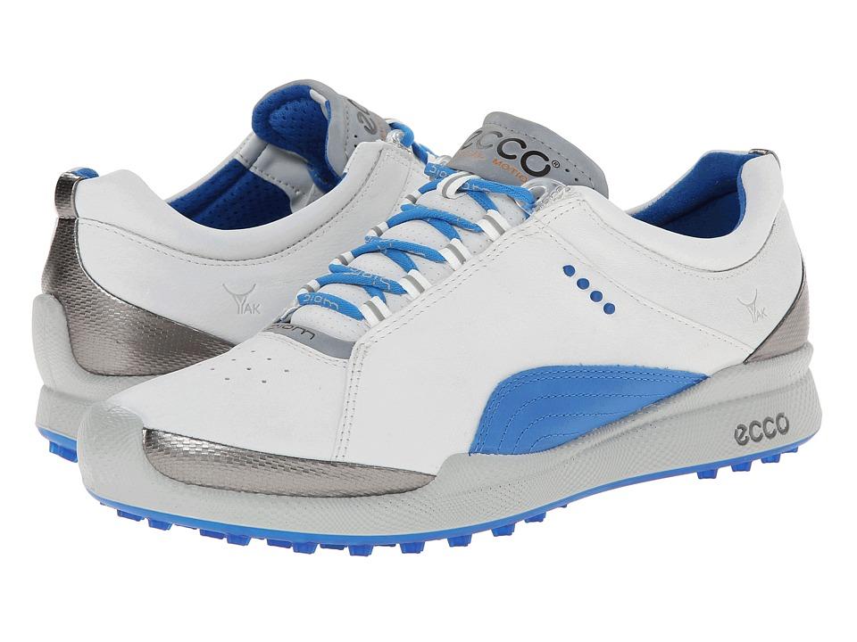 ECCO Golf - Biom Golf Hybrid (White/Dynasty) Women's Golf Shoes