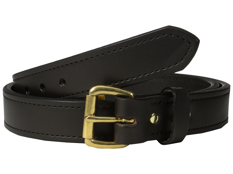Filson 1 1/4 Double Belt Brown w/Brass Mens Belts