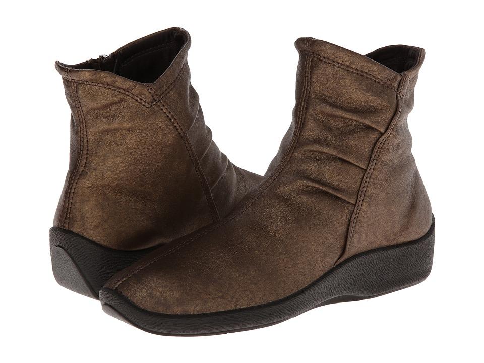 Arcopedico L19 (Bronze) Women's Zip Boots