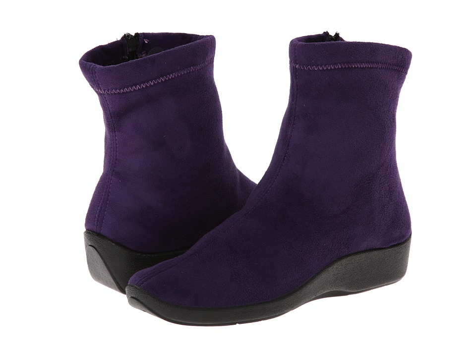 Arcopedico L8 (Violet Suede) Women's Zip Boots