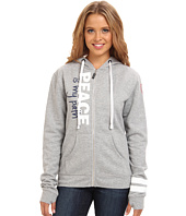 Peace Love World - Zip Up Hoodie