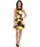 MICHAEL Michael Kors - Camo Print S/L Flare Dress