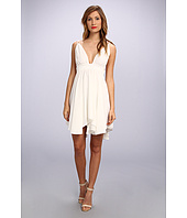 Tbags Los Angeles - Chiffon Spag Strap Triangle Hi-Lo Dress