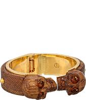 Alexander McQueen - Wood Skull Bracelet