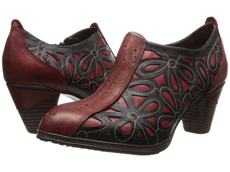 Spring Step Arabella Red Womens Shoes