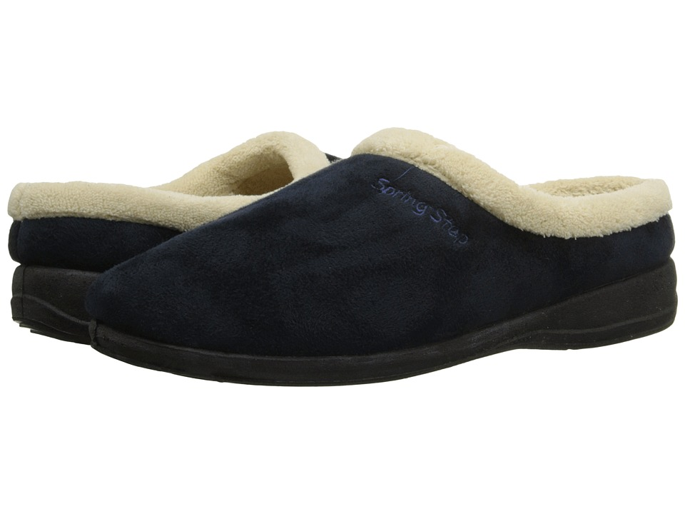 Spring Step Ivana Navy Womens Shoes