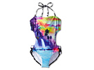Seafolly Kids Sunset Island Cut Out One Piece Bikini