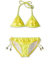 Seafolly Kids - Secret Valley Frill Tri Kini (Little Kids/Big Kids)