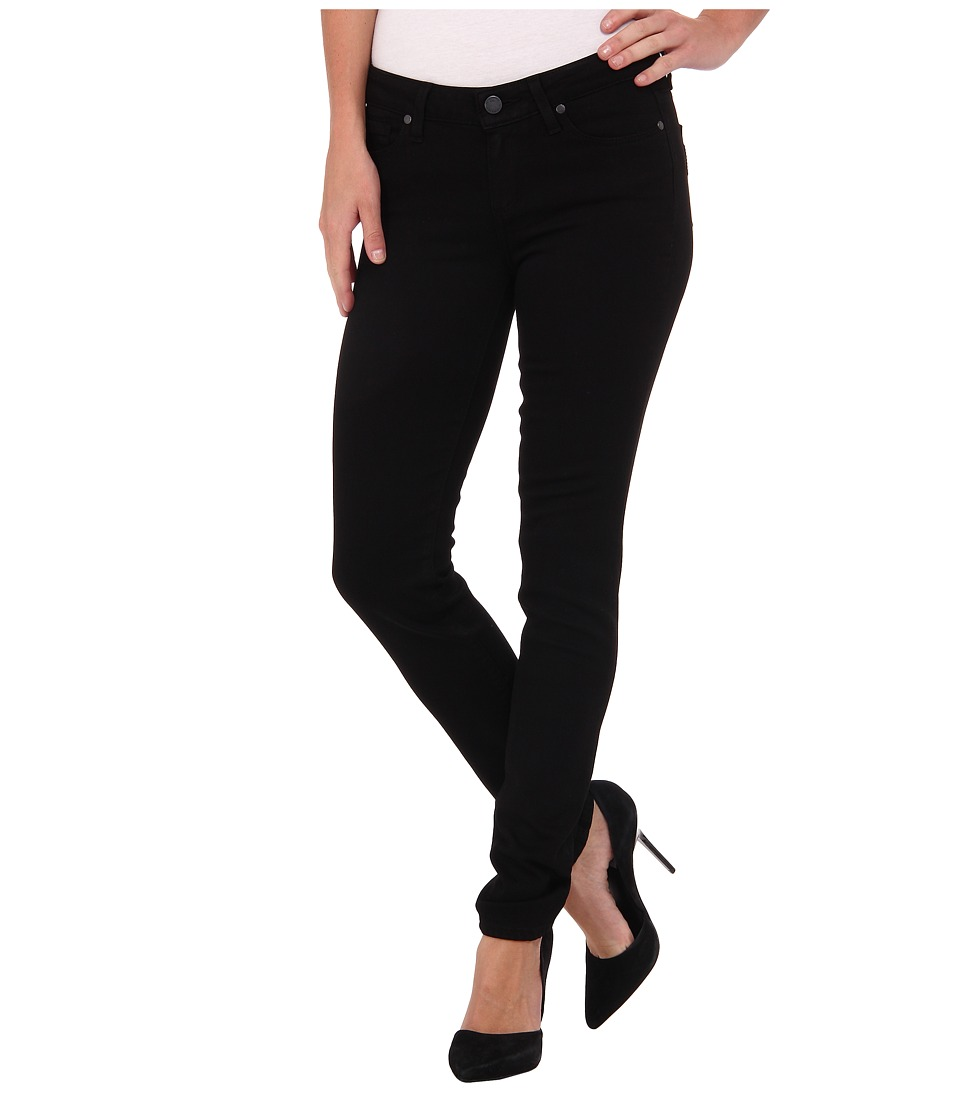 Paige - Skyline Skinny in Black Shadow (Black Shadow) Womens Jeans