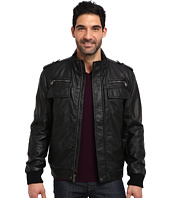 Calvin Klein - Faux Leather Bomber Jacket CM499264