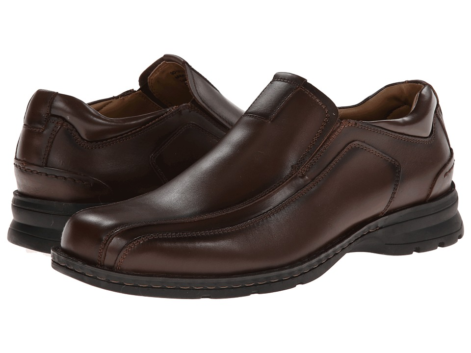 Dockers Agent Bike Toe Slip On (Dark Tan) Men