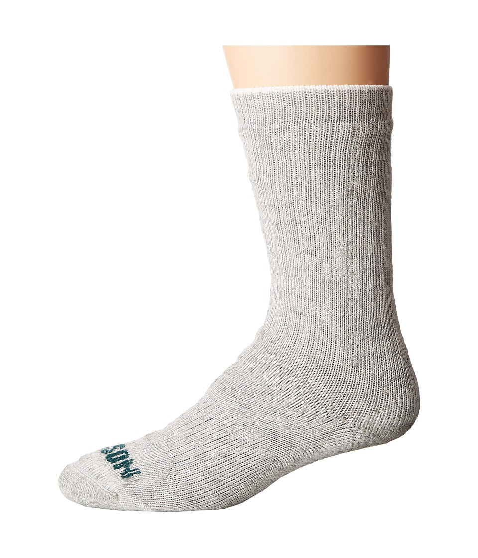 Filson - Hvwt Traditional Crew Sock (Gray Heather) Mens Crew Cut Socks Shoes