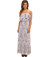 Tbags Los Angeles - Layered Ruffle Maxi Dress