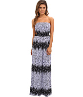 Tbags Los Angeles - Tube Maxi Dress w/ Side Cutouts