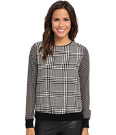 MICHAEL Michael Kors - Houndstooth-Print Sweater