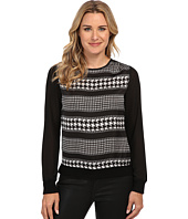 MICHAEL Michael Kors - Heiress L/S Knit Trim