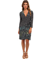 BCBGMAXAZRIA - Adele Printed Wrap Dress IHV64B43