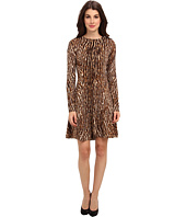 MICHAEL Michael Kors - L/S Leo Flare Sweater Dress