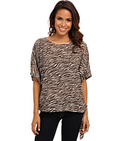 MICHAEL Michael Kors - Savannah Zebra Tie Top