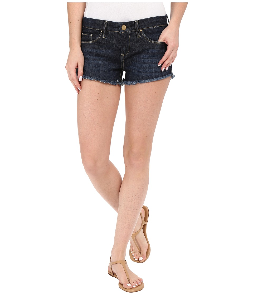 Blank NYC Little Queenie Cut Off Short in Denim Blue Denim Blue Womens Shorts
