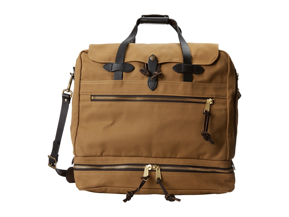 Filson - Outfitter Travel Bag (Tan) Weekender/Overnight Luggage