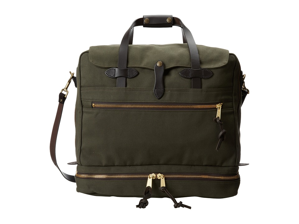 Filson - Outfitter Travel Bag (Otter Green) Weekender/Overnight Luggage