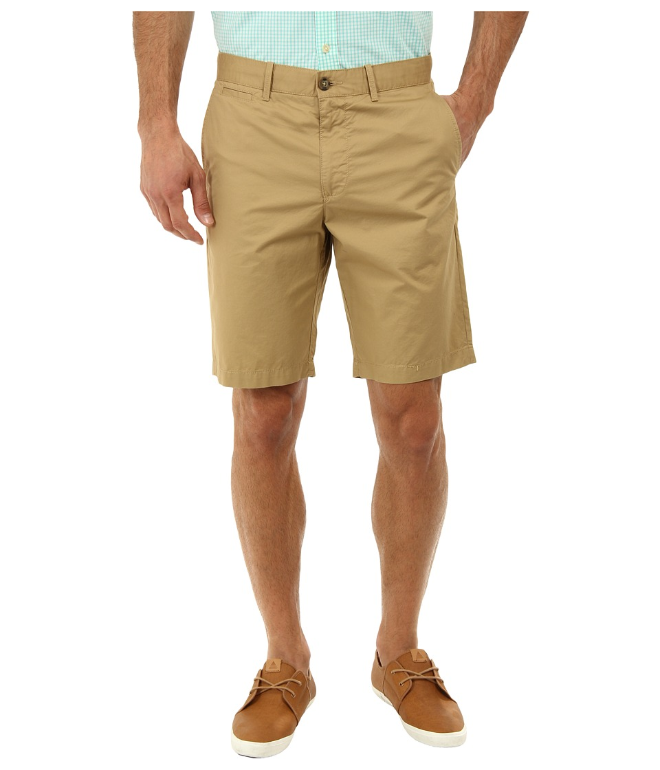Original Penguin Basic Flat Front Short (Kelp) Men