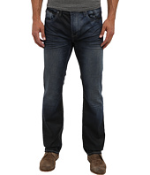Buffalo David Bitton - Six Slim Jean In Sarco Fabric in Dark & Repaired