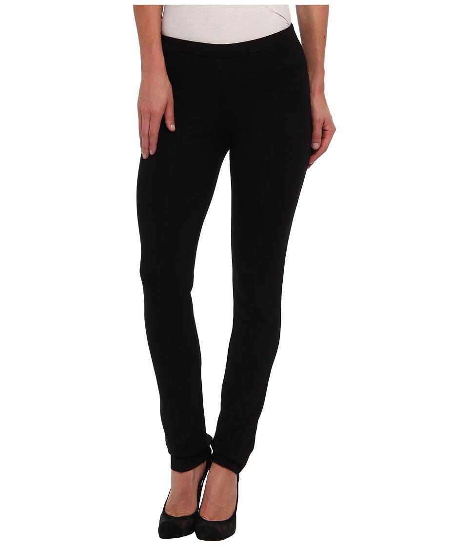 NICZOE Petite Perfect Ponte Pant Black Onyx Womens Casual Pants