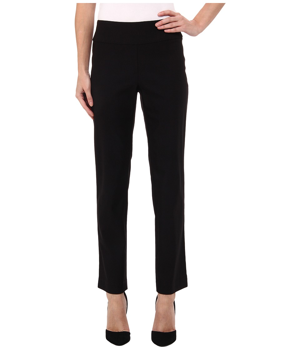 NIC+ZOE - Petite Wonderstretch Pant (Black Onyx) Womens Dress Pants